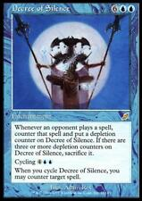 MTG Magic - (R) Scourge - Decree of Silence - SP