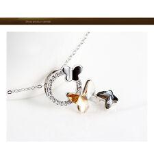 Schmetterling Halskette Anhänger Mit  Swarovski Element Kristalle Für Frauen