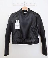 Carine Roitfeld Uniqlo Riders Motorcycle Faux Leather Jacket XS (Japanese S) NWT
