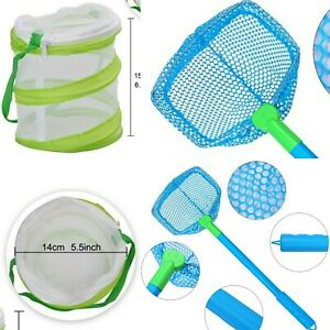 Butterfly Fishing Net And Butterfly Screen Cage Kids Child Bug Catcher 2 piece