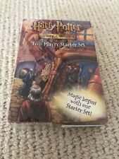 Harry Potter Trading Card Game Two Player Starter Set NEW SEALED Wizards Coast