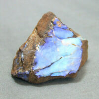 Boulder Opal with Blue Fire Queensland Australia Unpolished 19g 33mm