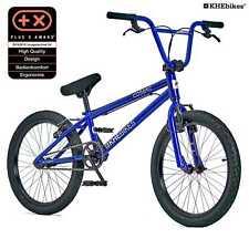 KHE BMX Fahrrad COSMIC BLAU patentierter Affix 360° Rotor 20 Zoll nur 11,1kg!