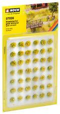 """NOCH 07036 - Grasbüschel Mini-Set """"fleurs"""", jaune - neuf emballage d'origine"""