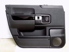 2007-2012 LAND ROVER RANGE ROVER L322 LEFT FRONT DOOR PANEL TRIM CARD BLACK