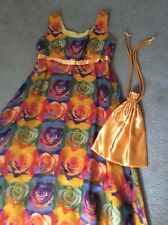 Warhol Design Style Custom Made, Long Dress, Party, Bridesmaid, Size 16