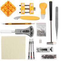 148pcs Watch Repair Tool Kit Watch Caser Opener Remover Watchmaking Tools UK