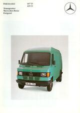 OPUSCOLO MERCEDES-BENZ Transporter 407D 409 D - 1985
