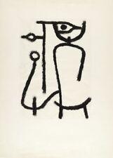Lady Apart, 1940, PAUL KLEE Surrealism Expressionism Bauhaus Poster