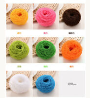 Kitchen Catering Fiber ball Scourer Pads Cleaning