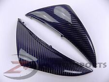 2009-2011 R1 Upper Front Nose Side Cowl Panel Fairing 100% Carbon Fiber Blue