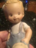 ENESCO Memories of Yesterday Figurine I'LL NEVER LEAVE YOUR SIDE #S0108 MEMBER
