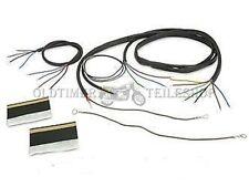 faisceau câbles, câble équipé ZÜNDAPP DB 200 DB 201 DB 202 avec schéma
