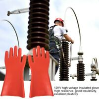 High-voltage Proof Rubber Insulated Gloves Waterproof Safety Protective Gloves