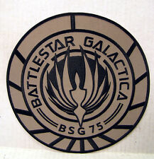 "Battlestar Galactica Bsg-75 Tan Logo 8"" Jacket Patch (Bgpa-10-Jp)"