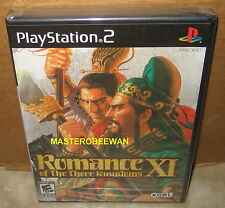 PS2 Romance of the Three Kingdoms XI New Sealed (Sony PlayStation 2, 2007)