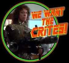 "80's Cult Classic Critters Johnny Steele ""We Want the Crites"" custom tee AnySize"