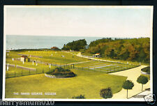 Postcard Silloth Grass tennis courts