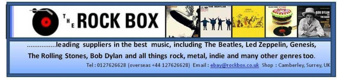 Rock Box CD and Vinyl