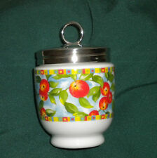 "NEW KING EGG CODDLER,JAR~ ""ORANGES""~ROYAL WORCESTER,WHITE RUBBER THREADS"