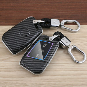 For VW Arteon Teramont Skoda Superb Car Kye Cover Accessories Keyfob Case Shell