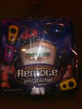2002 Hasbro Remote Possibilities Game Tested Working