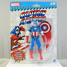 Marvel Superheroes Vintage Retro Captain America Action Figure