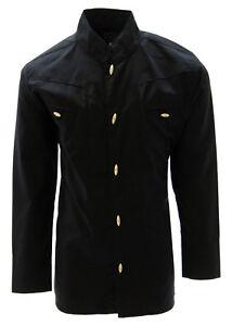 Boys Charro Shirt El General Western Wear Camisa Charra de Niño Color Black