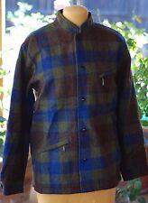 Vintage Beeline 100% Hipster lumber Wool Jacket SNAP Button  FAST FREE SHIPPING!