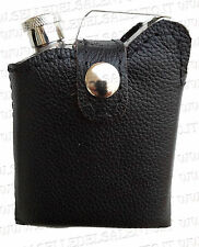 Fiaschetta da Tasca a Forma di Tanica carburante pelle Porta Liquori Whisky 6oz