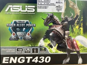 ASUS Nvidia GeForce GT 430 - 1GB DDR3 PCle -  ENGT430/DI/1GD