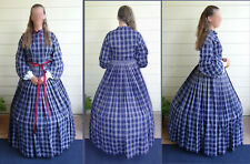 Civil War Reenactment Lady's Suit, Custom Made and Hand-Sewn in Gettysburg