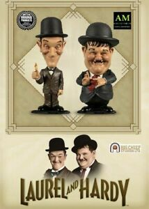 Big Chief Studios - Laurel & Hardy Mini Bobblehead Figurine - Dick & Doof - New