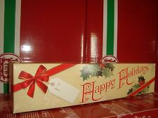 LGB 40690 SERIES US STYLE FLAT CAR CARDBOARD CHRISTMAS GIFT BOX LOAD BRAND NEW!!
