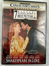 """NEW DVD-""""SHAKESPEARE IN LOVE"""" WINNER OF 7 ACADEMY AWARDS INCLUDING BEST PICTURE"""