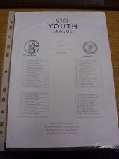 22/10/2013 Schalke Youth U19 v Chelsea Youth U19 [UEFA Youth League] (single she
