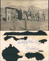 Deutsch-Südwestafrika Schutztruppe Verhau Kolonien Namibia DSWA 1913 Privatfoto