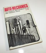 Vintage Paperback - Automechanics by John Mills, 1965, Daily Mirror