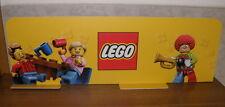 original LEGO Werbeschild Werbeaufsteller WIE NEU 98 cm lang Clown