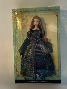"""NRFB 2008 Aine Barbie Doll """"Legends of Ireland"""" Silver Label Collector #L9638"""