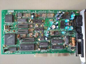Vintage 8-bit IBM PC Sound Blaster 2.0 QuickShot Game Machine same as CT1350
