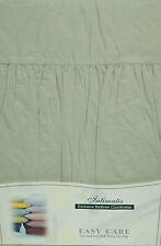 DOUBLE BED PLATFORM / BASE VALANCE SHEET WILLOW POLYCOTTON 180 THREAD COUNT