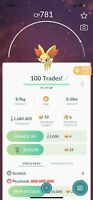 Pokémon GO 100 Fennekin Trades - GUARANTEED LUCKIES! - Delivered All At Once!