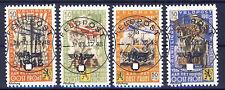wwII Belgien Flämische Legion 1939-45 Mi. V-VIII gezähnt gestempelt Fälschung