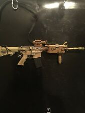 BBI 1/6 Scale Jerry Elis (TAN) M4A1 Carbine W/crane Stock AN/PEQ2
