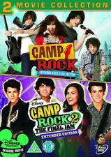 Camp Rock 1 & 2 Disney DVD Region 2