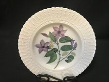 "Royal Cauldon ~ Flowers of the Caribbean Plate ~ 9 1/2"" ~ RUBBER VINE FLOWER"