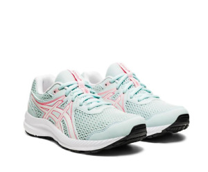 Asics Gel Contend 7 GS Trainers Asics Girls Womens Running Shoes Fitness Gym