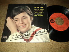 "CLAUDIE DOREL 45 TOURS EP 7"" FRANCE VA T'EN VA T'EN (FRENCH KIDS YEYE GIRL)"