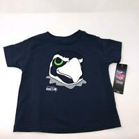 Seattle Seahawks Official NFL Kids Youth T-Shirt Toddler Youth Size 3T